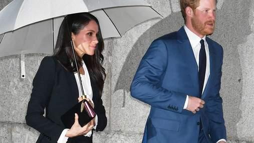 Принц Гаррі заборонив Меган Маркл одягати смокінг