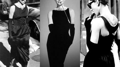 """Знаменитое платье Одри Хепберн из фильма """"Завтрак у Тиффани"""" модернизировали на показе Givenchy"""