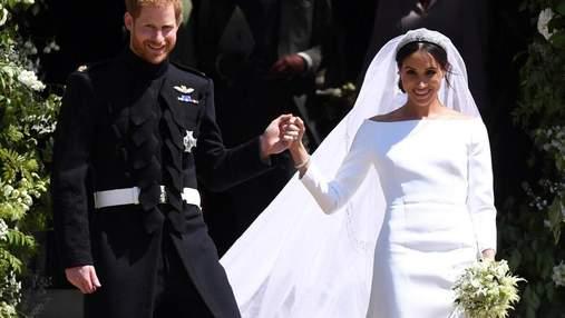 Як шматок бетону: друг принца Чарльза грубо розкритикував весільну сукню Меган Маркл