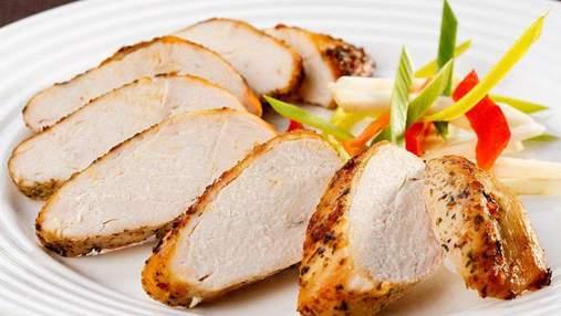 Запечене куряче філе з лимоном та чебрецем: рецепт страви