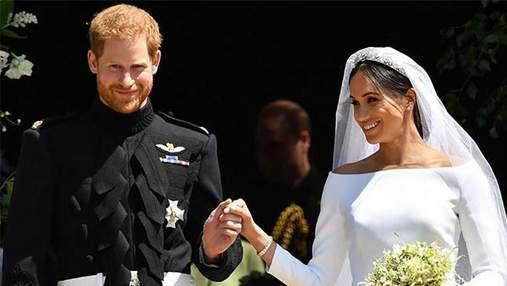 Как принц Гарри и Меган Маркл лично поблагодарили за поздравления со свадьбой: фотофакт