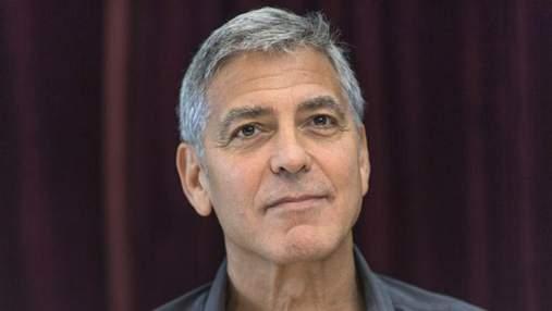 У мережі з'явилось моторошне відео ДТП за участю Джорджа Клуні