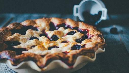 Пиріг з чорницею: рецепт приготування ніжного десерту