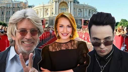 Брат Джулии Робертс и украинские звезды: кто побывал на открытии кинофестиваля в Одессе