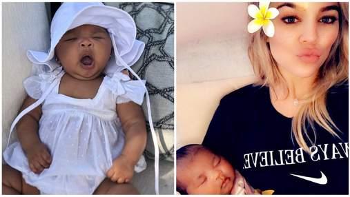 Хлои Кардашян показала волшебные фото трехмесячной дочери