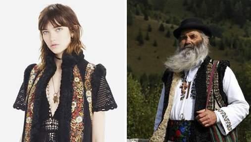 """Румыны обвинили  Dior в плагиате и подготовили для бренда модный """"поединок"""""""