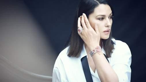 Розкішна Моніка Беллуччі у новій колекції Cartier знялася для глянцю: фото