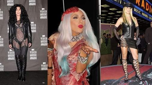 MTV Video Music Awards: шокирующие и провокационные образы на красной дорожке
