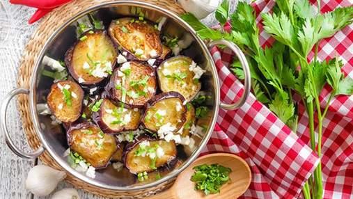 Салати на зиму з баклажанів: прості рецепти приготування