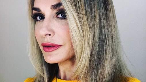 Ольга Сумская показала селфи без макияжа: фото