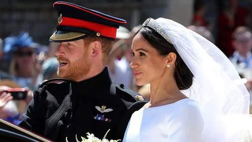 У Меган Маркл на год заберут свадебный наряд: известна причина