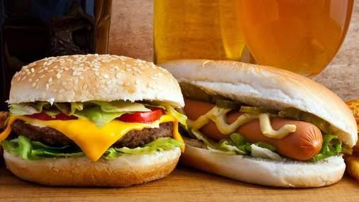 Гамбургери чи хот-доги: який фаст-фуд найшкідливіший