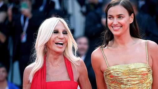 Модель Ирина Шейк засветила роскошное платье на Венецианском кинофестивале: яркие фото