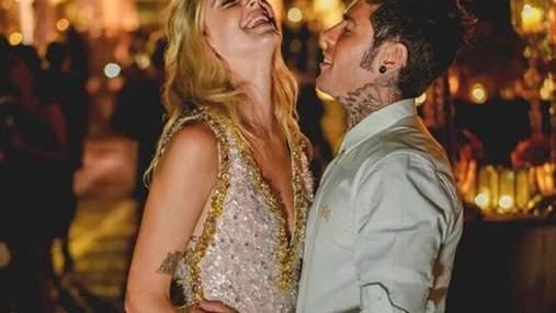 Весілля мрії: К'яра Ферраньї показала перші фото у розкішній сукні Prada з вечері