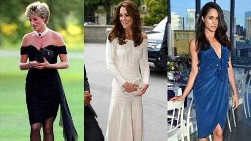 Кто из представительниц королевской семьи Великобритании надевал мини-платья: фото