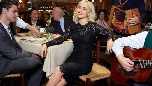 Эмилия Кларк снялась для кампейна Dolce & Gabbana: яркие кадры