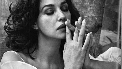Сексуальна Моніка Беллуччі знялася у чуттєвій фотосесії для глянцю: фото