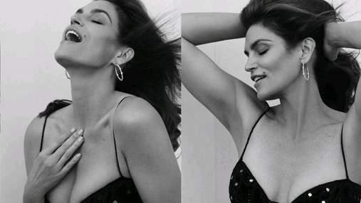 Роскошная Синди Кроуфорд стала звездой глянца: фото