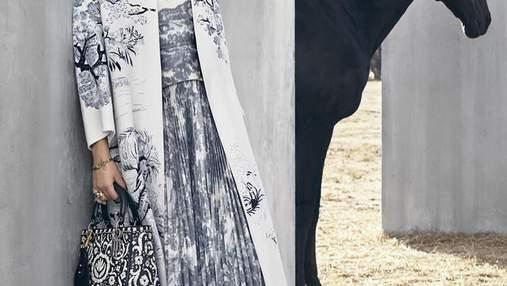Дженнифер Лоуренс стала звездой нового кампейна Dior: стильные фото