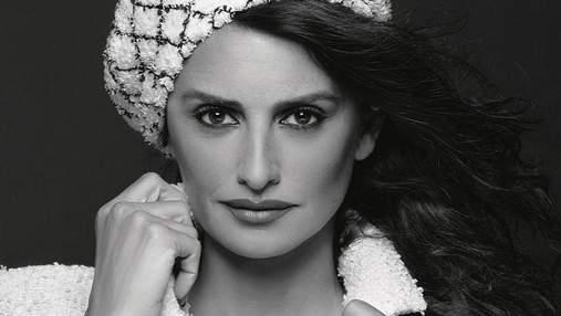 Пенелопа Крус впервые снялась в кампейне Chanel: роскошные фото