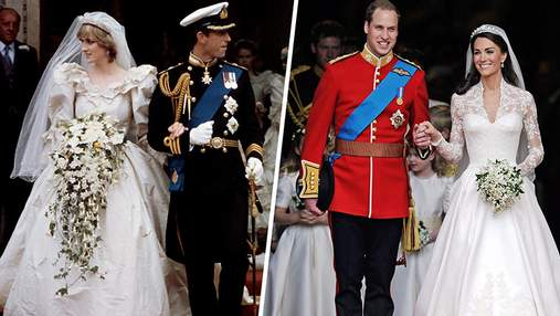 Найкращі та найгірші весільні сукні у королівській родині: фото
