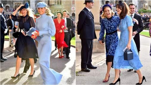 Колишні дівчата принца Гаррі першими прибули на весілля принцеси Євгенії