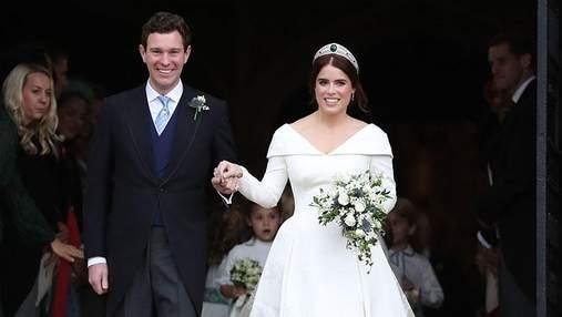 Свадьба принцессы Евгении и Джека Бруксбенка: в сети появились роскошные фото праздничного торта