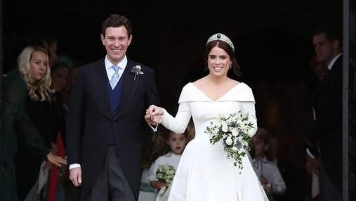 Королевская семья опубликовала официальные фото свадьбы принцессы Евгении и Джека Бруксбенка
