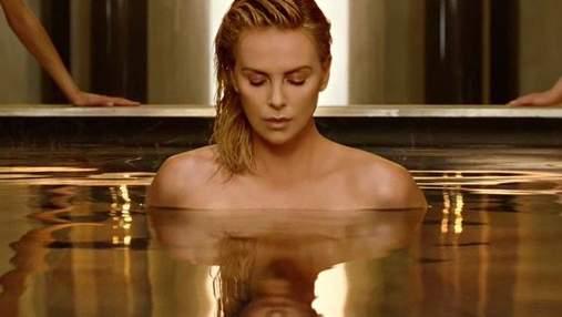 Шарлиз Терон обнажилась для рекламы Dior: видео