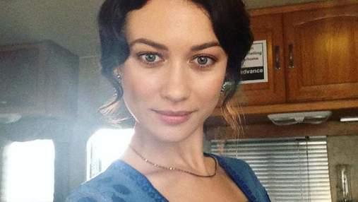 Ольга Куриленко показала естественную красоту без макияжа: фото