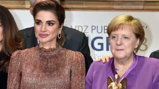 Аристократичний стиль: у якому образі королева Ранія відвідала світський захід у Берліні