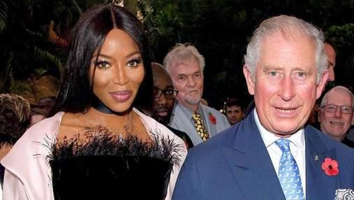 Принц Чарльз та Наомі Кемпбелл вразили спільним виходом: фото