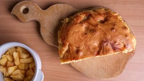 Яблочный пирог за 20 минут: пошаговый рецепт