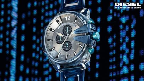 Diesel совместно с двукратным номинантом на Грэмми представляют новую коллекцию часов