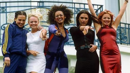 Мел Би испугала сеть архивным фото группы Spice Girls