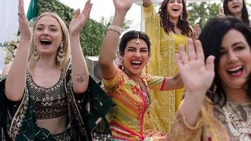 Індійське весілля Пріянки Чопри і Ніка Джонаса: з'явилися перші фото з церемонії мехенді