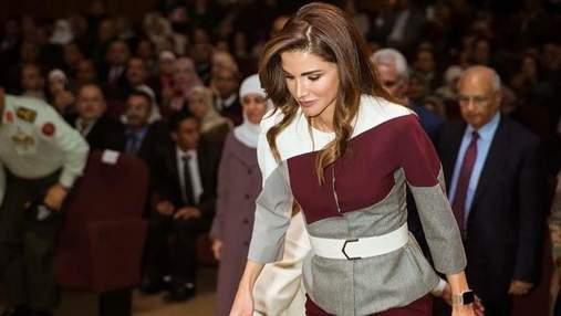 Королева Ранія продемонструвала розкішний образ в Аммані: фото