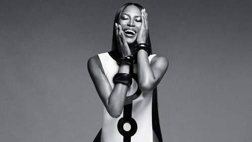 Наомі Кемпбелл знялась топлес для косметичного бренду: сексуальні фото (18+)