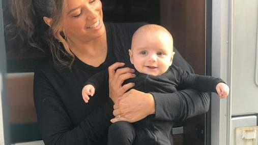 Матуся Єва Лонгорія привітала сина з півріччям: зворушливе фото