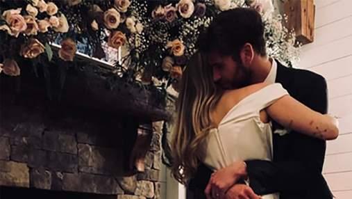 Майли Сайрус подтвердила слухи о свадьбе с Лиамом Хемсвортом: волшебные фото с церемонии