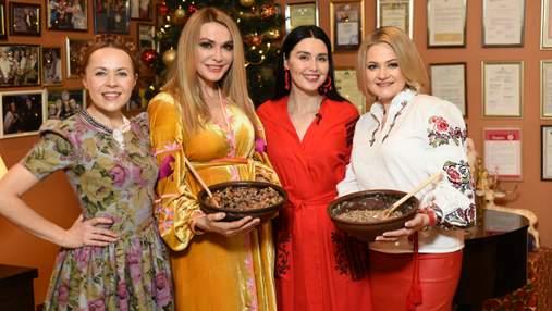 Winter Romantik Fest 2019: как украинские звезды готовили кутью из разных регионов – фотообзор