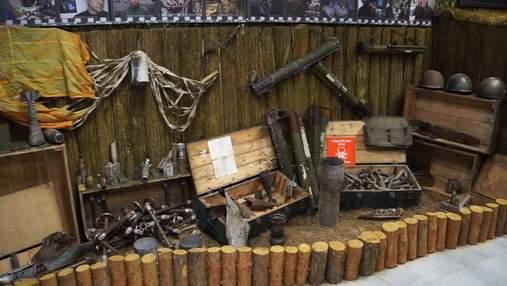 На Харьковщине открыли необычный музей, посвященный войне на Донбассе