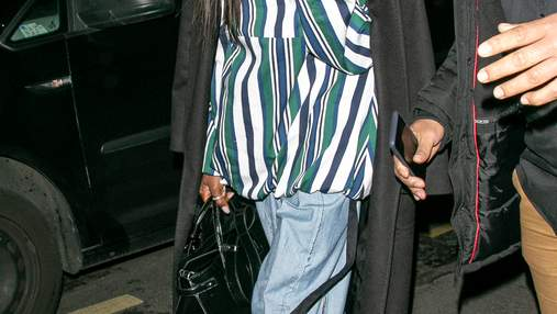 Наомі Кемпбелл одягнула джинси українського дизайнера у Парижі: фото