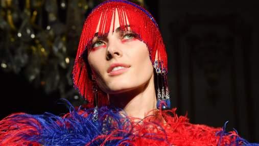 Добавить красок: яркие образы с шоу Giorgio Armani Prive – фотообзор