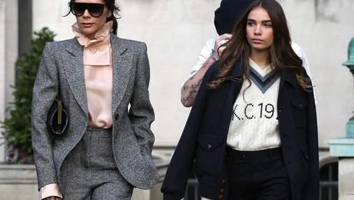 Виктория Бекхэм стала одевать девушку Бруклина в свой бренд: фотофакт