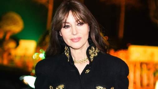 Моніка Беллуччі зачарувала виходом у вбранні від Chanel: яскраві фото