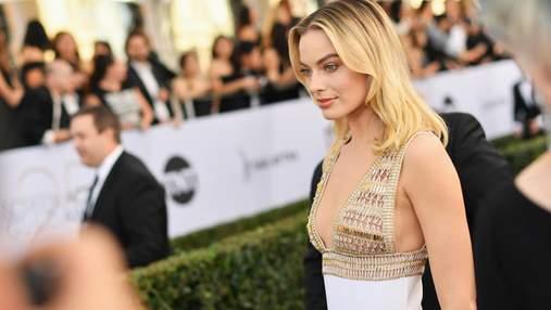 Марго Робби очаровала выходом в роскошном платье от Chanel: яркие фото