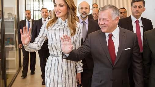 Елегантний стиль: новий вихід королеви Йорданії Ранії