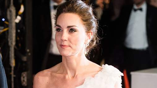 Кейт Міддлтон приголомшила вишуканою сукнею на урочистій церемонії BAFTA-2019: фото