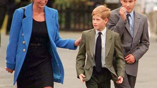 Усміхнена принцеса Діана з синами: у мережі з'явилося рідкісне фото королівської сім'ї
